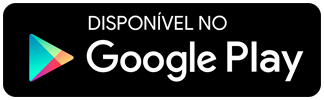 Logotipo da google play para download